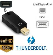 1080p Thunderbolt Mini DisplayPort a HDMI Adattatori Apple Macbook PRO MAC AIR