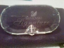 Swarovski Signature Jewelry Plaque – Crystal Store Display