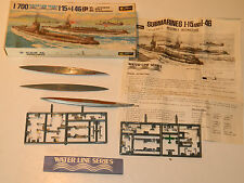 VINTAGE MAQUETTE Fujimi mokei S074 1/700 Japanese NAVY Submarines WATER LINE