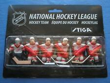 STIGA DETROIT RED WINGS NHL STIGA TABLE HOCKEY GAME PLAYERS PACK NEW!