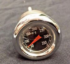 Chrome Oil Tank Dipstick Temperature Gauge Harley Softail 2000-up hd bobber