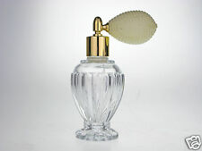 IVORY DIVO BULB GLASS PERFUME ATOMIZER 46ml NEW