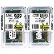 Atech 2GB Kit Lot 2x 1GB DDR Laptop PC2700 2700 333 333mhz 184-pin Memory Ram