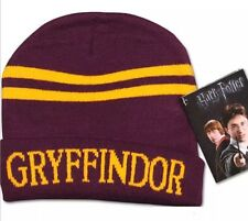 Harry Potter Gryffindor Red & Gold Hat Beanie Unisex US Seller