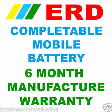 ERD High Capacity Li-ion Compatible Mobile Battery Nokia 6700 Slide/ 7210 7330