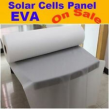 550MM x 10M Photovoltaic Solar Cells EVA Film For DIY Solar Panel Encapsulation