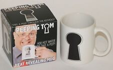 Peeping Tom Heat Revealing Novelty Mug - Add Hot Water to Take a Peep !! - New