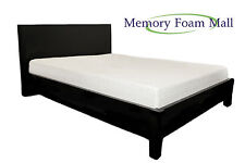 10 Inch Queen Size New Firm Cool Blue Gel Infused Memory Foam Mattress Bed Room