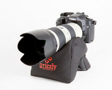 Grizzly Camera Support Bean Bag for Camera, Video, Bhotography,Tripod Med Black
