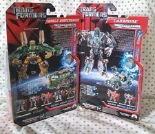 TransFormers Green Jungle BoneCrusher Landmine Movie 07 Lot G1 Titans Return MOC