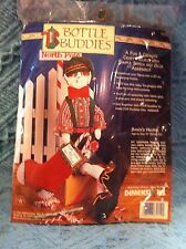 "NEW 1998 DIMENSIONS BOTTLE BUDDIES ""SANTA'S HELPER"" KIT #62159"