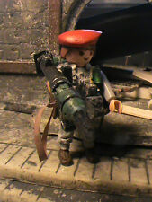 PLAYMOBIL-CUSTOM-7TH-PARACHUTE-REGIMENT-BRITANICO-SINGAPUR-1945-REF-0076  PLAYM