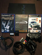 PLAYSTATION 2 PS2 CONSOLE KONSOLE : SCPH 39004 1 CONTROLLER GAMES / MEMORYCARDS