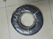 1 Reel 300M BLACK CABLE, 22AWG, 2CORE, PVC Cable 300V  80°c