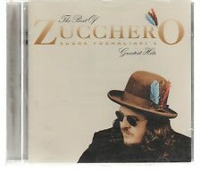 ZUCCHERO SUGAR FORNACIARI THE BEST OF GREATEST HITS CD F.C.