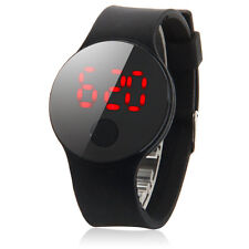New Fashion Men Women's Date Waterproof LED Digital Leather Quartz Wrist Watch.