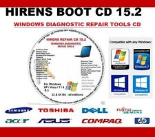 WINDOWS XP VISTA 7 8.1 10 REPAIR TOOLS CD /BOOTABLE UTILITIES DISK