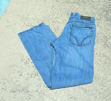 Vintage D&G Designer High Waisted Mom Jeans Light Wash Classic Boot Leg (0016)