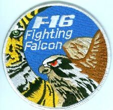 GENERAL DYNAMICS F-16 FIGHTING FALCON SWIRL SSI: GENERIC NATO TIGER MEET NTM