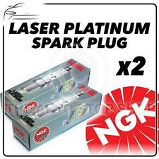 2x NGK SPARK PLUGS Part Number PFR6G-11 Stock No. 5555 New Platinum SPARKPLUGS