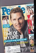 PEOPLE MAGAZINE-DOUBLE ISSUE-MAR. 17,2014-MATTHEW MCCONAUGHEY-194 PGS.WRINKLED C