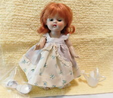 GINNY STRUNG DOLL, RED HAIR, WEARING MARY MARY DRESS, VINTAGE VOGUE