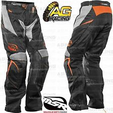 MSR Xplorer Summit Pants Black Orange 30 inch Enduro Quad Motorcycle Adventure