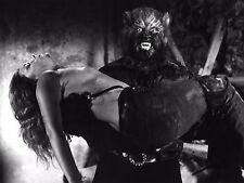 PAUL NASCHY (COLLECTION OF 12 ORIGINAL PHOTOS 20X30 THE RETURN OF THE WEREWOLF