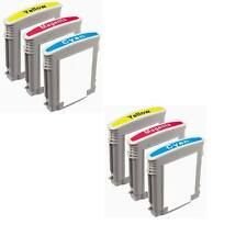 6PK Combo color HP 940 XL 940XL CMY Ink Cartridge Officejet 8000 8500 Printer
