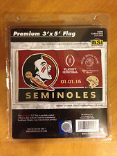 Florida State Seminoles 2015 Rose Bowl College Football Playoff Semifinal Flag
