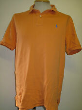 "Genuine Vintage Ralph Lauren men's Orange Polo Shirt Size 38-40"" M"