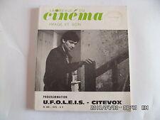 LA REVUE DU CINEMA IMAGE ET SON N°269 1973 PROGRAMMATIONS DE 1973     J66