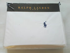 Ralph Lauren Home Single Duvet Quilt Cover - White - Rrp £99