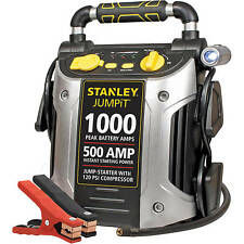 Compressor Charger AC Jump Starter 12 Volt 1000 Peak Battery Amp Car Auto NEW!