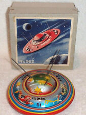 1950's/60's Apollo Flying Saucer NR 562 West Germany Tin Friction Toy MIB Mint
