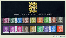 1998 Machin 1p to £1, 2nd &1st Definitive Stamp Presentation Pack PPD64 (no.41)