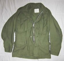 Original us army parka m-65 small/short armée veste JACKET COTTON/Nylon vietnam?