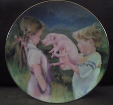 """The Piglet"" by Nancy A. Noel Collector's Plate"