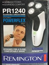 NEW Remington PR1240 R4 Lithium Power Series Rotary Shaver Rechargeable Cordless