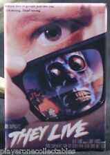 "They Live Movie Poster 2"" X 3"" Fridge / Locker Magnet."