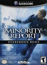 NGC MINORITY REPORT EVERYBODY RUNS Gamecube Game BRAND NEW FACTORY SEALED