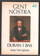 DURAN I BAS - JOSEP TARIN - BIOGRAFIA ILUSTRADA