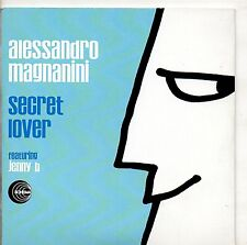 ALESSANDRO MAGNANINI CD SINGLE promo 1 TRACCIA.Secret Lover 2009 feat JENNY B