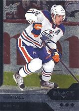 (HCW) 2013-14 Black Diamond TAYLOR HALL Triple Diamond Oilers Upper Deck 00596