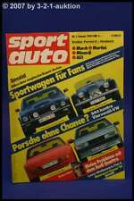 Sport Auto 1/84 Porsche 944 Morgan +8 AM Vantage Mini