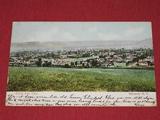 1906 Bird's Eye View Waverly, NY Postcard #6421 Posted VG