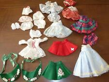20 Pc LOT Vintage DOLL CLOTHES Dresses Felt Skirts Hats Little Miss Revlon 10""