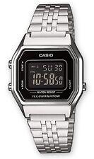 Casio LA-680WEA-1B Orologio Donna polso Vintage Nuovo Crono Sveglia Luce 5anni