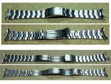 Bracciale acciaio SEIKO -attacchi 20 mm.- SEIKO Stainless steel bracelet 18 mm.