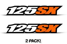 AMR Racing KTM 125 SX Swingarm Graphic Kit Number Plate Decal Sticker Part